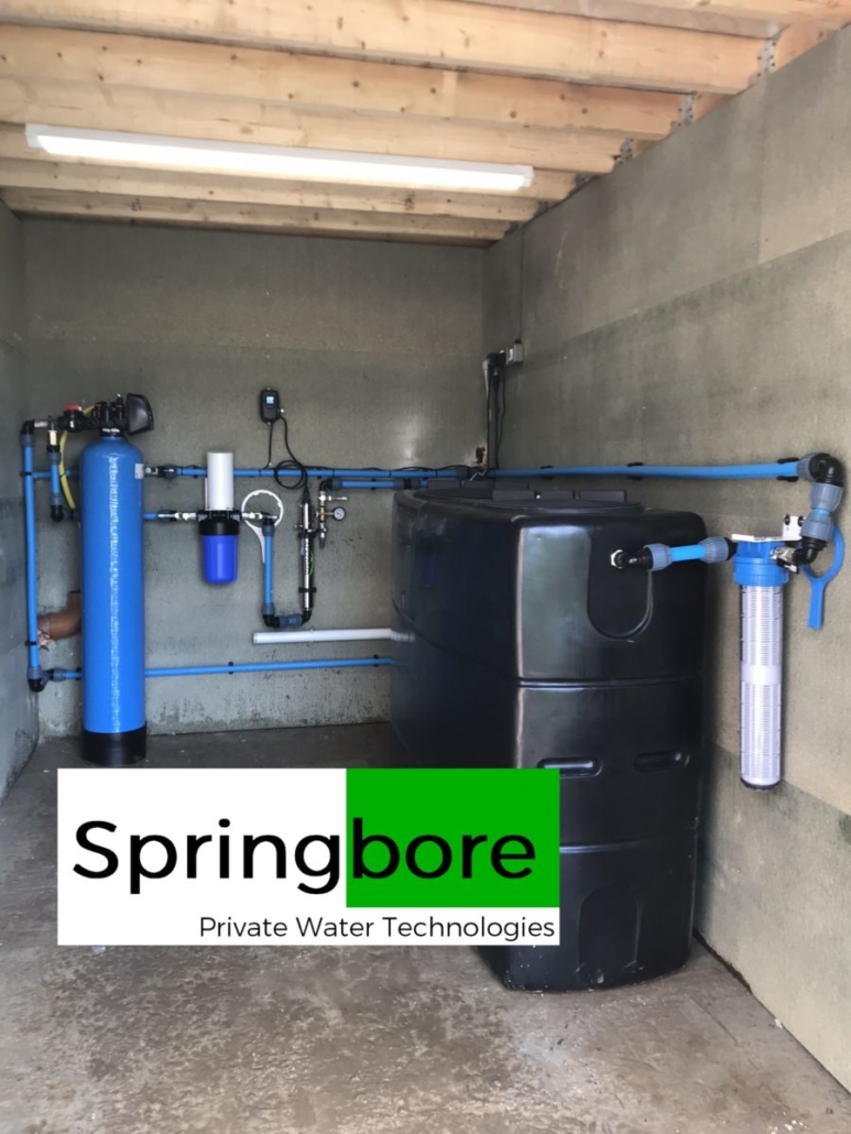 Spring Water Filter Systems In Cheshire Installation