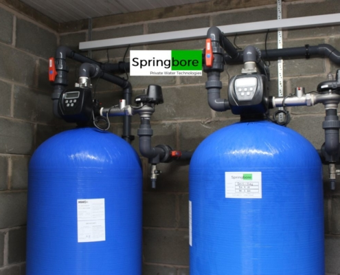 Borehole water filter system