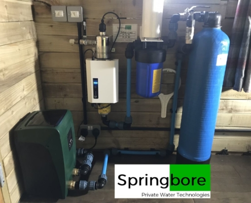 Spring water filter in Holmfirth