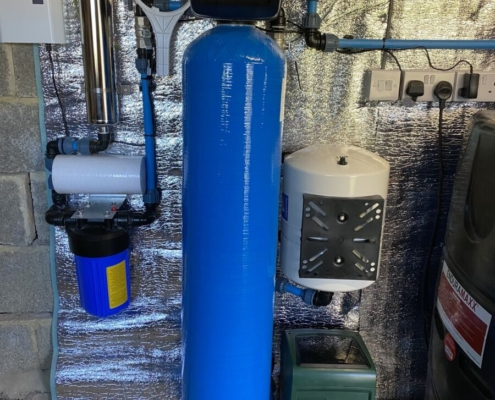 Spring water filtration & pumping