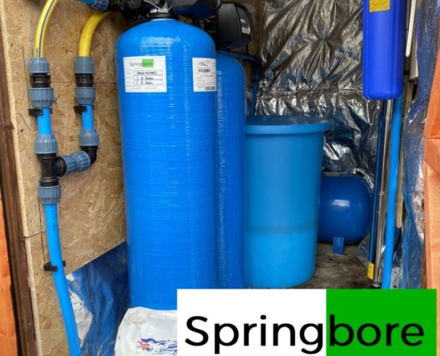 Borehole water treatment system