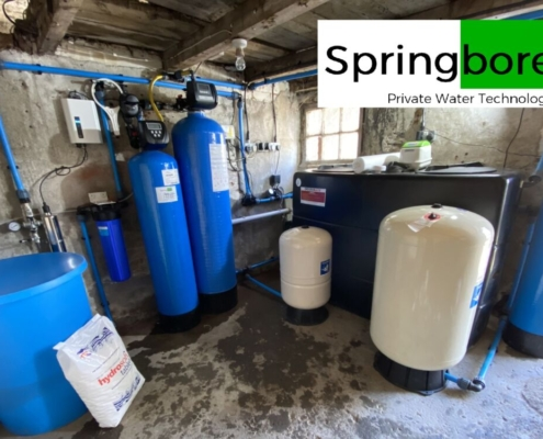 Water filtration for a borehole with high hydrogen sulphide odou