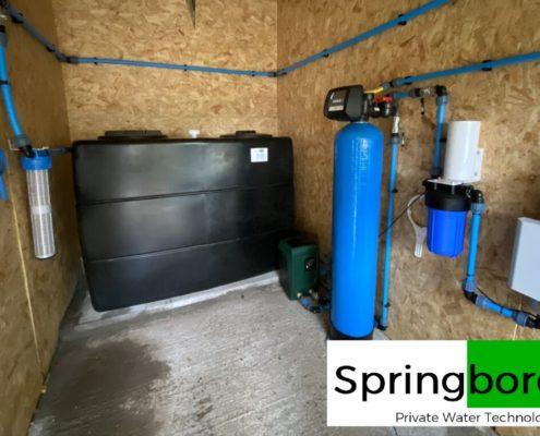 Spring water filter cumbria