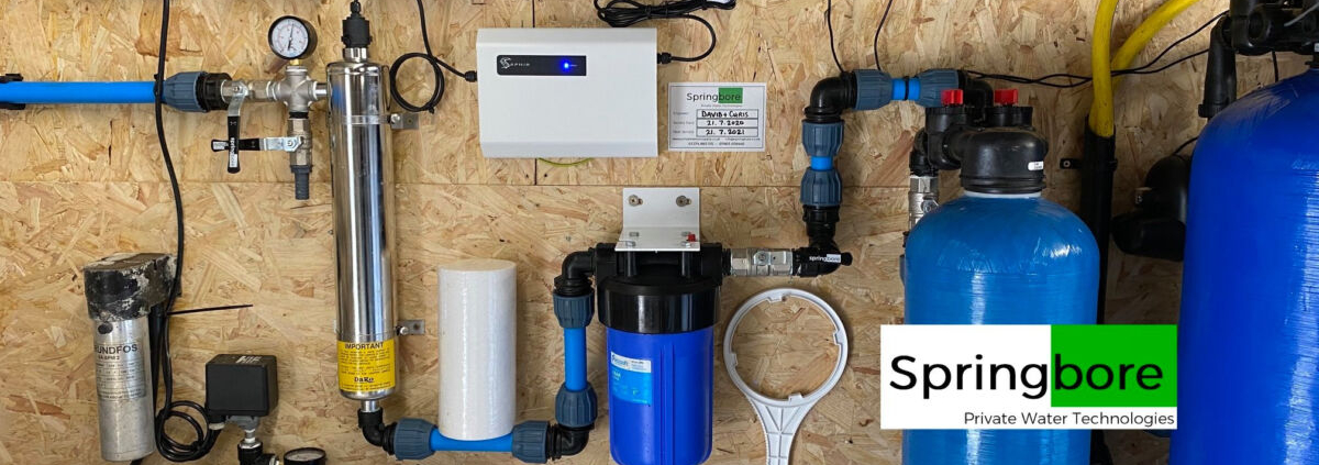 Simple water treatment system